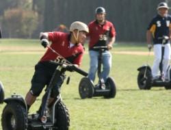 Segway Polo Fahrer